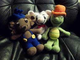 Bamse, Skalman & lille Skutt