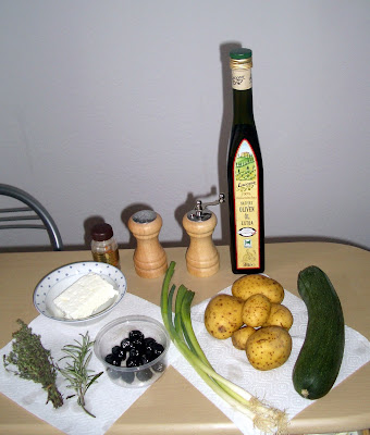 Grécke opekané zemiaky