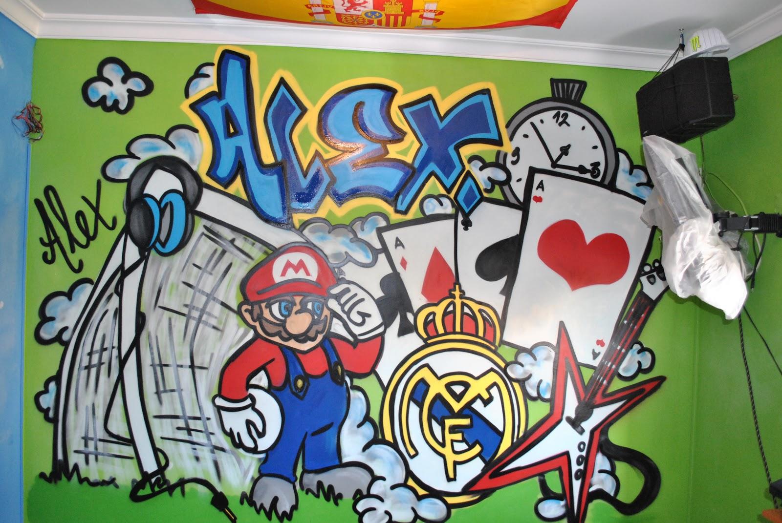 Decora graffitis cuarto - Graffitis para habitaciones ...