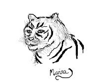 Norsk tiger av Marina