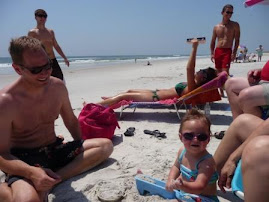 Enjoying the sun and sand