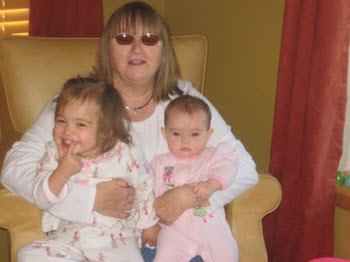 Grandma Linda with the girls