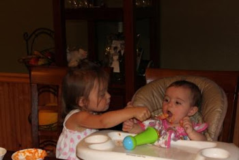 That's right Sophia, open wide for me