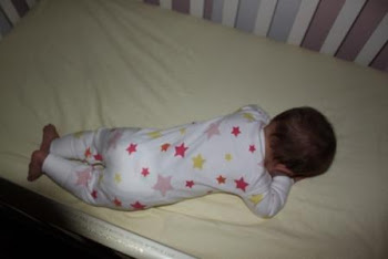 Favorite nighttime position for Sophia, the worst one for mom
