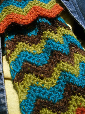 How to Crochet - Making a Scarf Using Ripple Stitch Part 4 Video