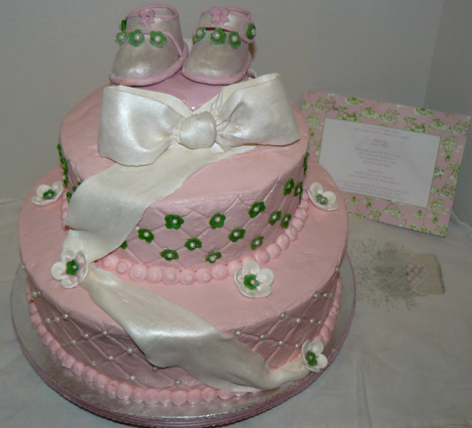 the woodlands cake boutique baby shoes baby shower cake