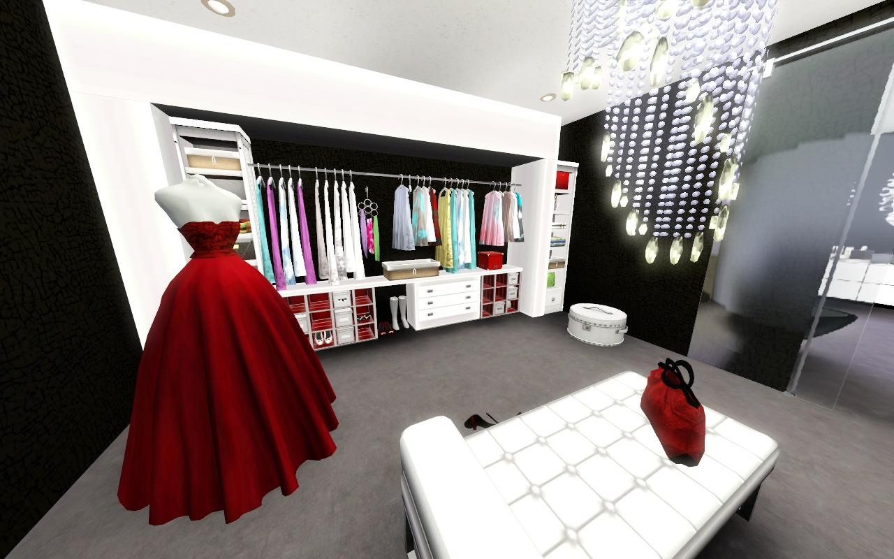 My sim style el vestidor de la habitaci n principal for Cuartos para ninos sims 4