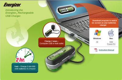 Troyano encontrado en Software del Cargador de baterías USB Energizer DUO  1