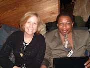 Cindy Sheehan and Walter Davis