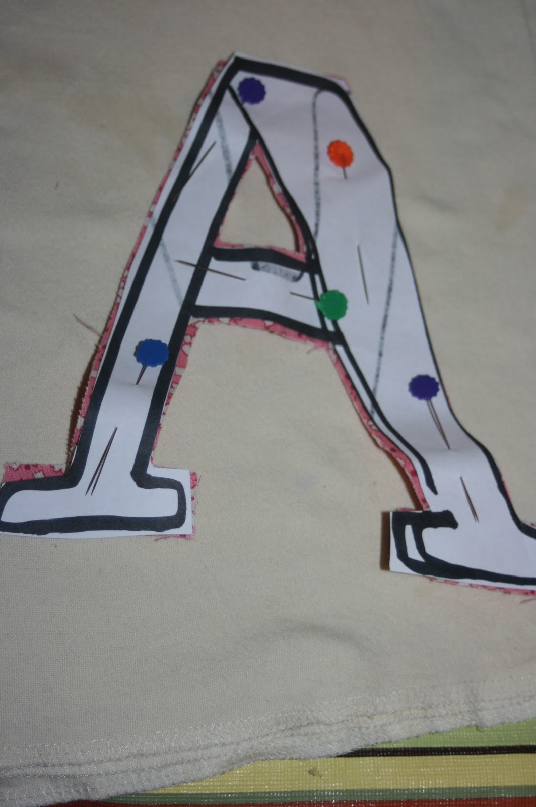 how to make stuffed letters