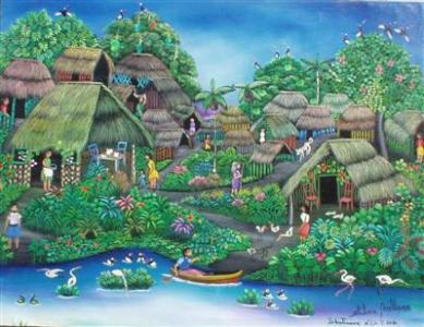 Peinture naïve du Nicaragua
