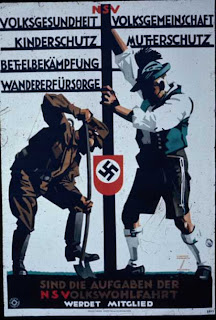 Carteles de propaganda de la II Guerra Mundial Nsv