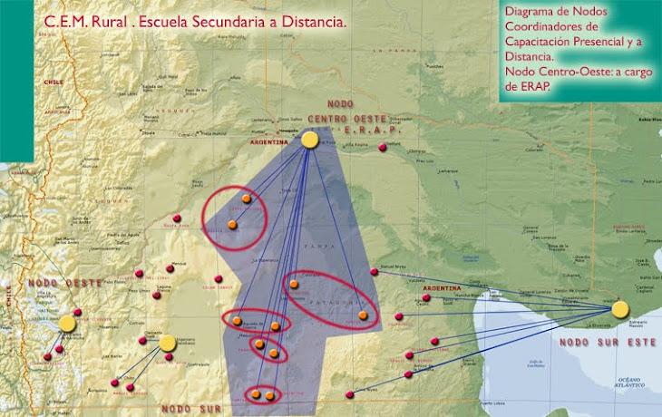 CEM Rural secundario a distancia en modelos colaborativos de enseñanza-aprendizaje