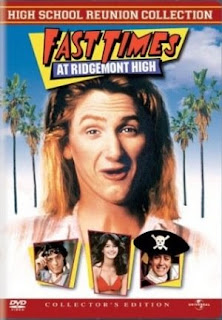 Fast Times at Ridgemont High staring Sean Penn, Jennifer Jason Leigh, Judge Reinhold, Robert Romanus, Brian Backer, Phoebe Cates, and Forest Whitaker
