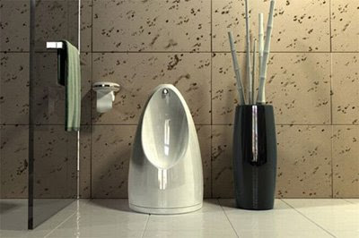 Toilet and Urinal in One Design Thing