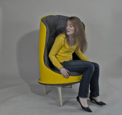 New Furniture : The Slide Chair by Evan Dublin