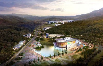 The Taekwondo Park World Headquarters in Muju, Korea