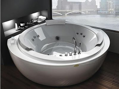 Elegance and Modern Design Nova Corner Bathtub