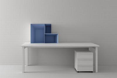 Altavoz - Blue Shelving System