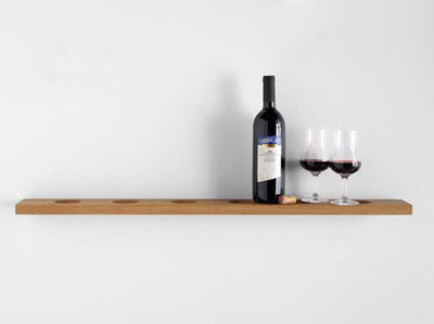 Wine Bottles Place Style Design