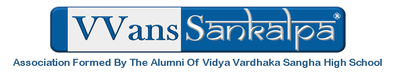 VVans Sankalpa- Vidyavardhaka Sangha High School (VVSHS) Alumni Association