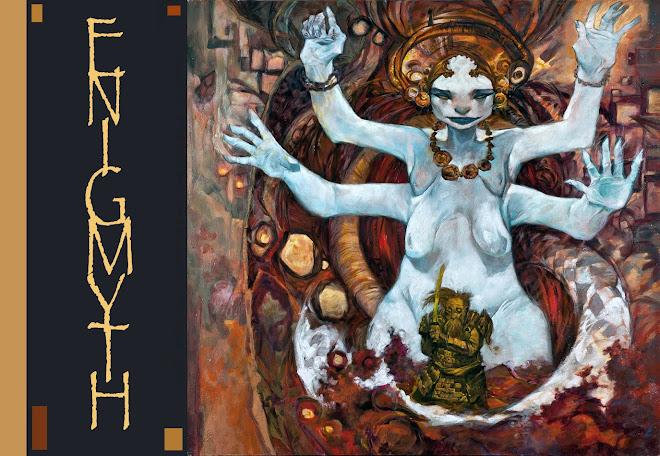 ENIGMYTH  Art By Peter Clarke