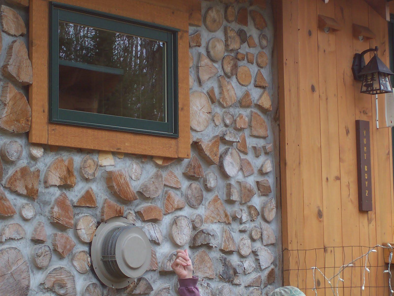 28 домов из дров / Экодом своими руками