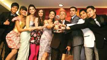 Sinetron Cinta Fitri mendominasi SCTV Award 2009, Dinda kanya devi, SHireen sungkar, aldy fairuz