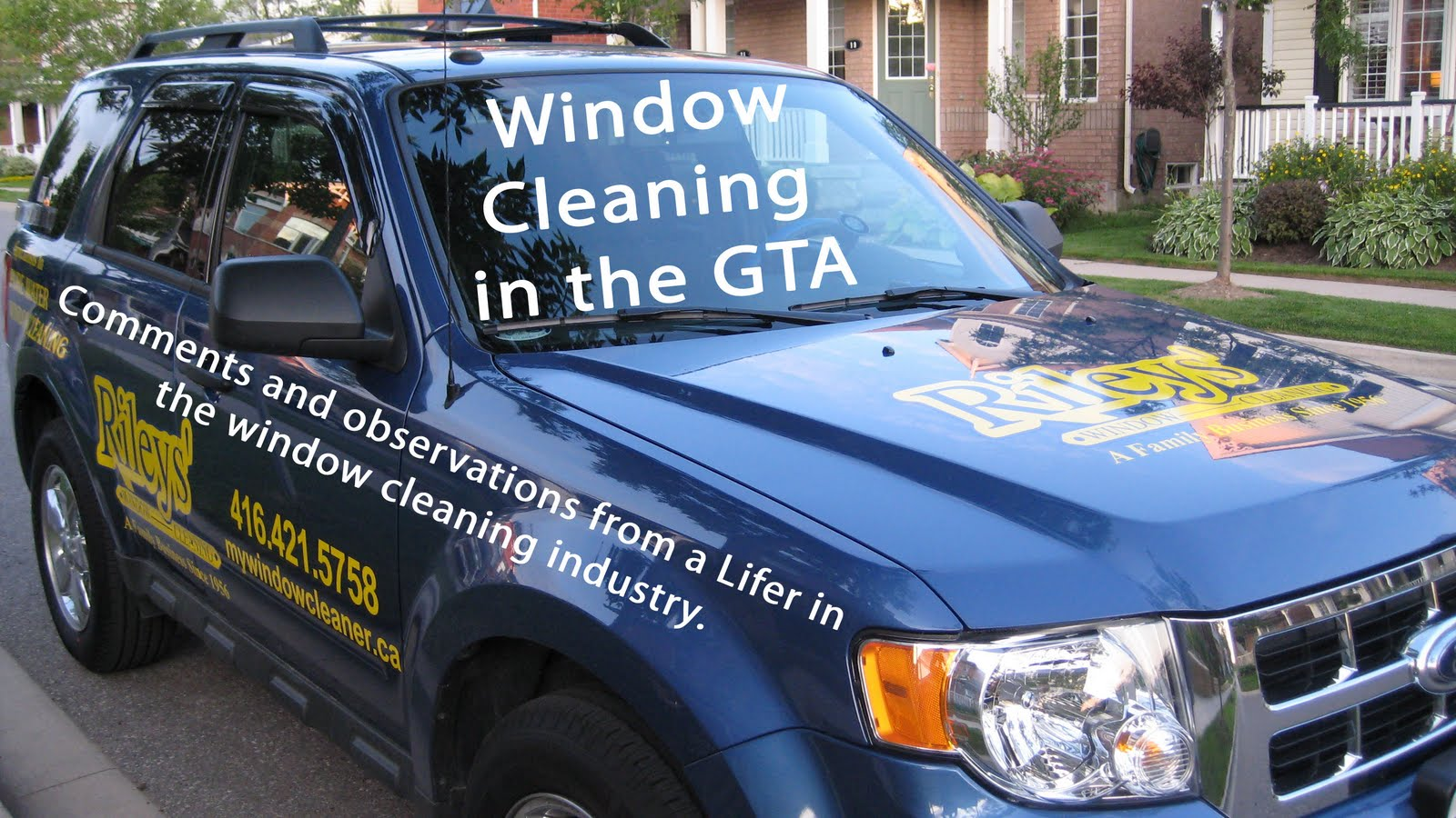 Cleaning windows in the GTA