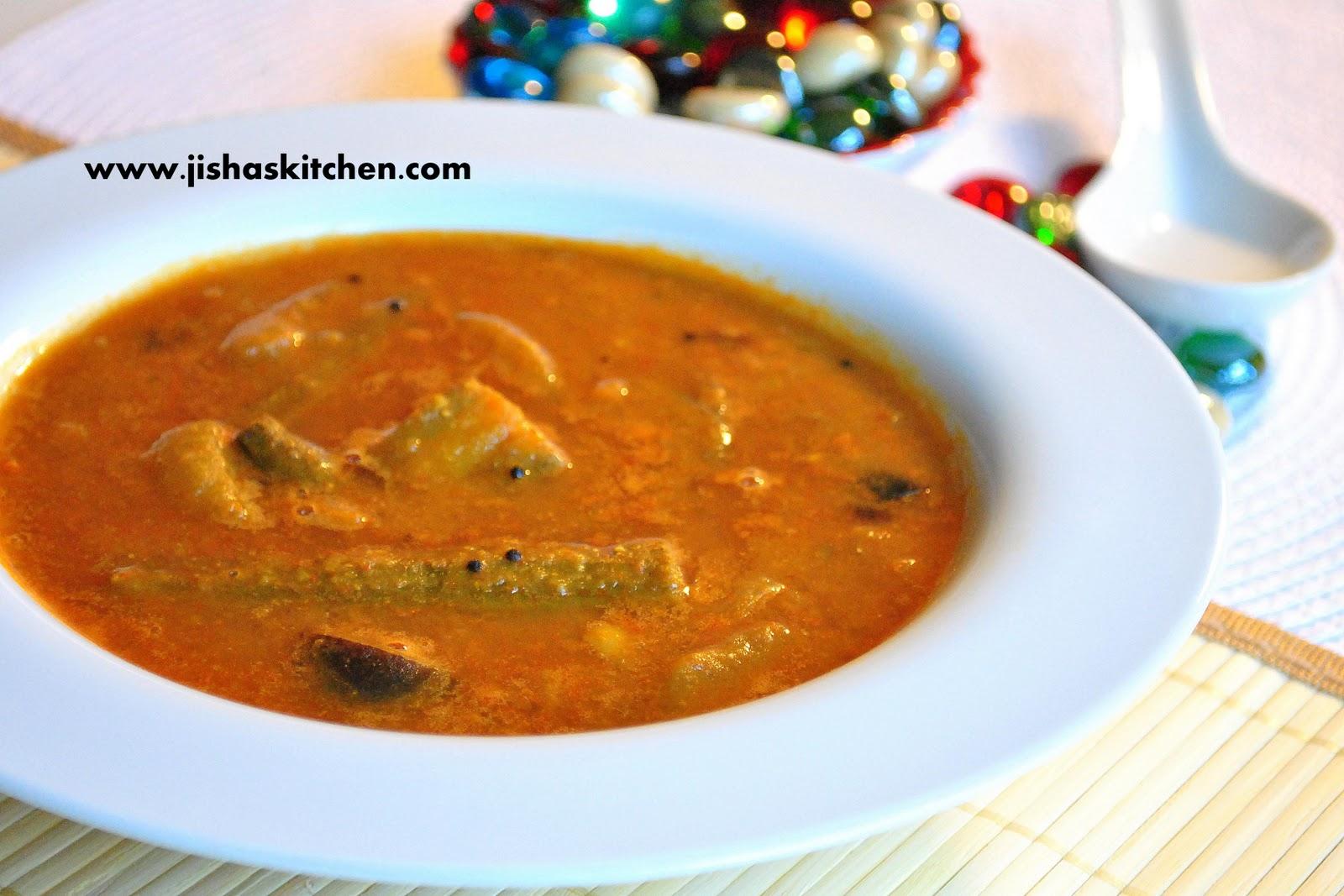Jishas Kitchen !Kerala Sambar / Kerala Style SambarIndian