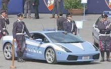 Carro de polícia Itália