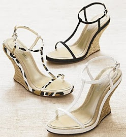 Model Sandal Wedges