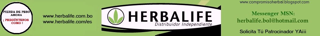 HERBALIFE - Distribuidores Independientes