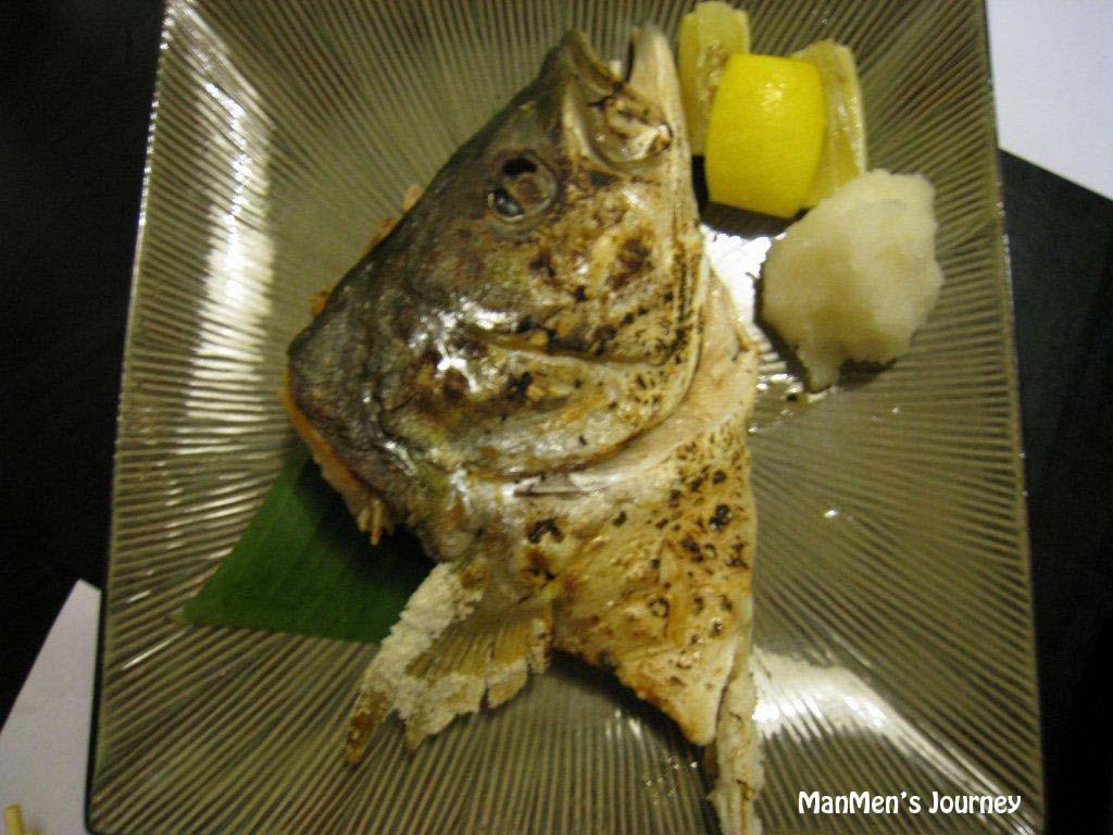 Manmen 39 s journey sakana ya crows nest for Salt fish head