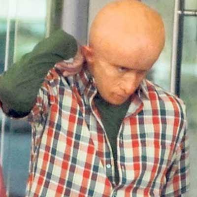 Amitabh Bachchan Bald Look