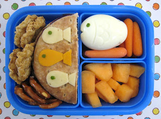 Silly Fish Paperchase Alien Bento Box