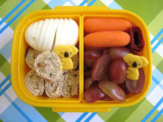 Pesto Rolls Bento Lunch Box