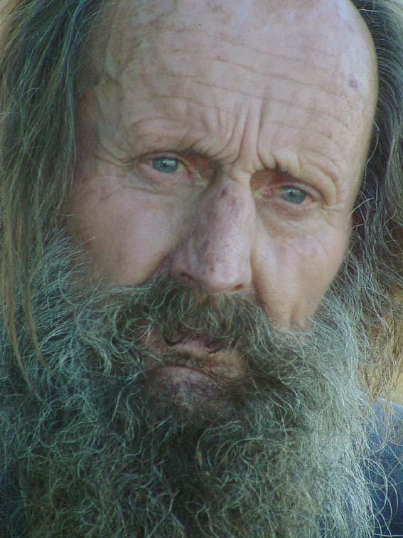 El último Vikingo...Leif Larsen (Monte Hermoso - Argentina)