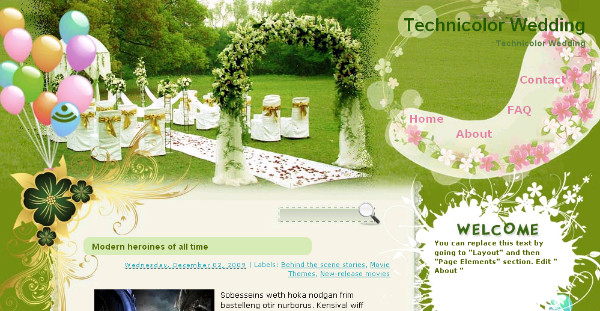 Best Wedding Blogger Templates