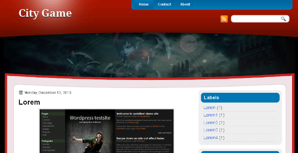Best Game Blogger Templates