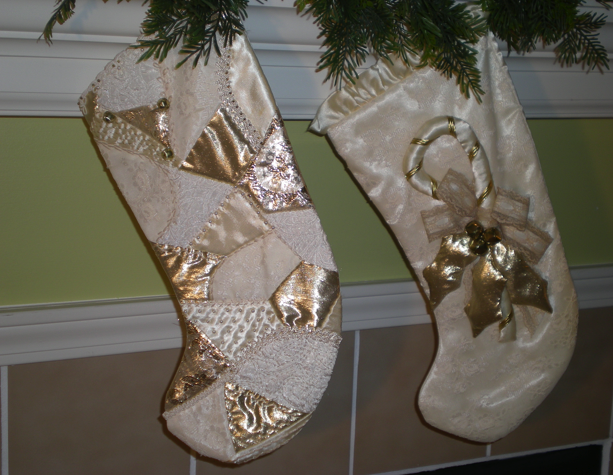 Love my tree skirt a case for repurposing your wedding gown