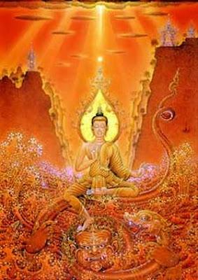 Buddha M Ara Paintings For Sale