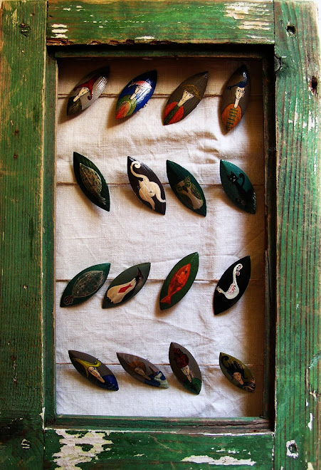 brose pictate pe lemn ( 20 lei)