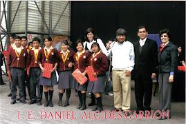 PREMIO DEL TERCER PUESTO EN ARTES ESCÉNICAS 2010