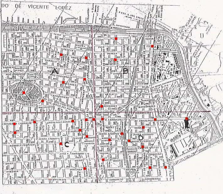 RED AMPARO ARGENTINA Mapa del Delito Comisara 35 Enero08