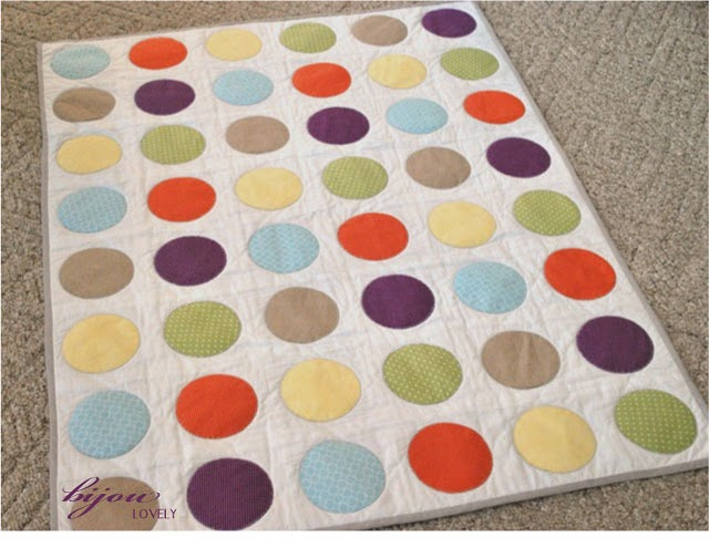 Circle Quilt this one seems REALLY time consuming but it's so cute
