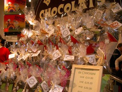 Bouquets de Chocolats