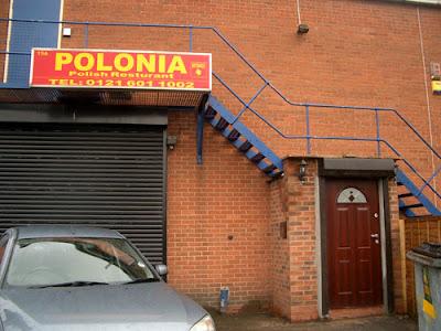 Polonia Restaurant Exterior