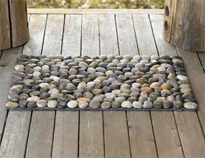 Fab home decor find river stone mats pinaywife 39 s for River stone mat