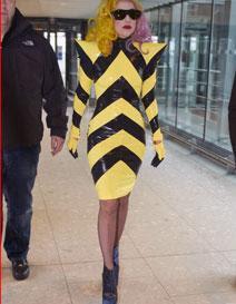 vestidos raros lady gaga